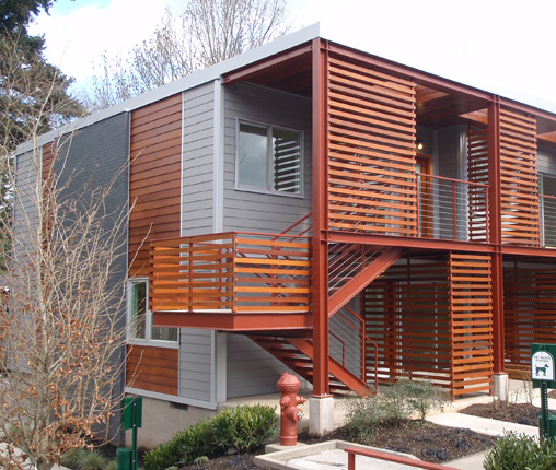 Cedar Terrace Apartments: EREZ RUSSO ARCHITECT, PC